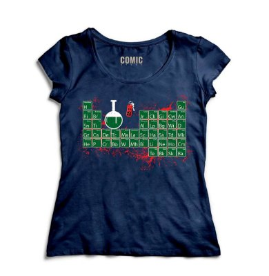 Camiseta Feminina Breaking Bad - Serie