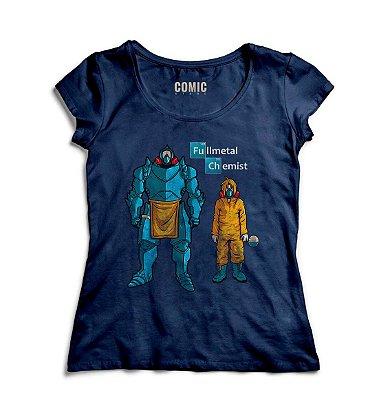 Camiseta Feminina Fullmetal chemist
