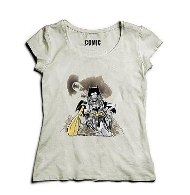Camiseta Feminina Bat Caverna
