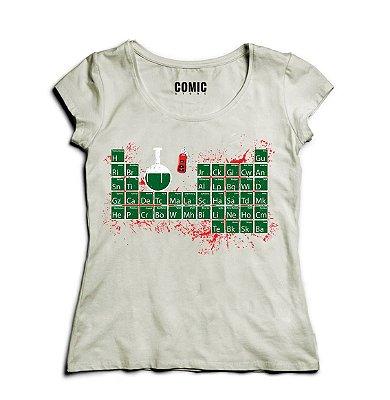 Camiseta Feminina Tabela Heisenberg