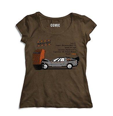 Camiseta Feminina De volta para o Futuro 5 - Filme