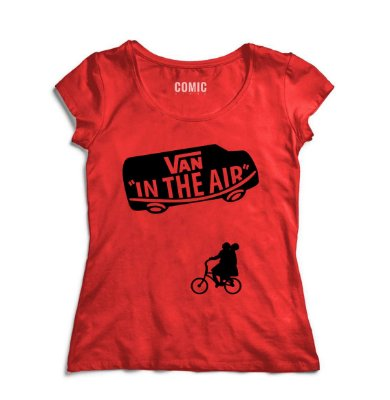 Camiseta Feminina Stranger Things - Van In the air