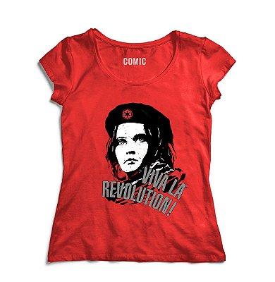 Camiseta Feminina Star Wars Viva la Revolution