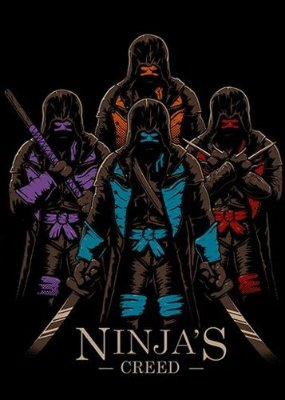 Camiseta Tartarugas Ninjas - Creed