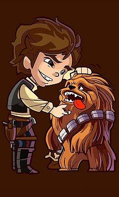 Camiseta Han Solo - Star Wars Filme