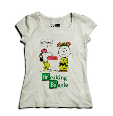 Camiseta Feminina Breaking Beagle