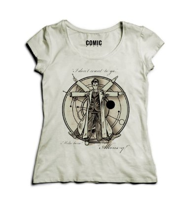 Camiseta Feminina Doctor 3D
