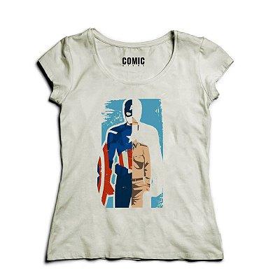 Camiseta Feminina Capitão America