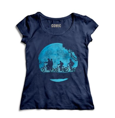 Camiseta Feminina Stranger Things - Classica Serie