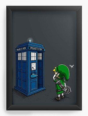 Quadro Decorativo Doctor Who - Link