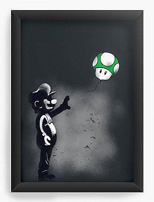 Quadro Decorativo Super Mario
