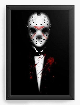 Quadro Decorativo Jason Killer