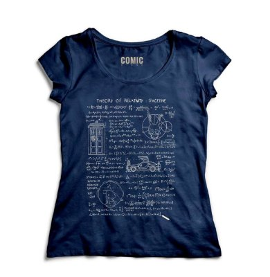 Camiseta Feminina Relative Space