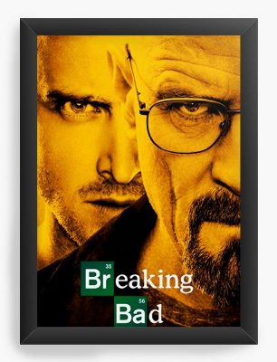 Quadro Decorativo Breaking Bad - Serie