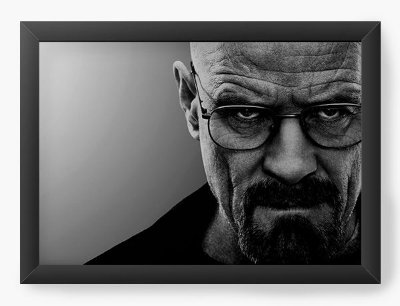 Quadro Decorativo Heisenberg - Breaking Bad