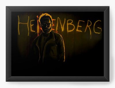 Quadro Decorativo Heisenberg
