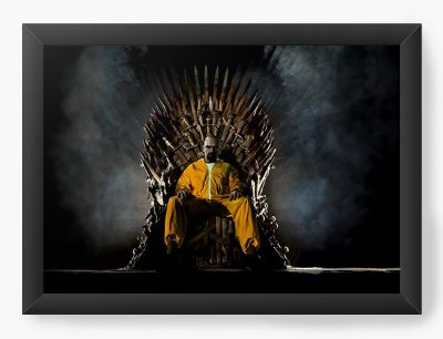 Quadro Decorativo Breaking Bad - Trono