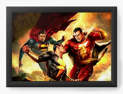 Quadro Decorativo Super Men