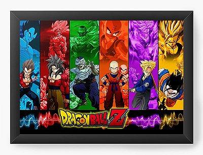 Quadro Decorativo Dragon Ball Z - Serie