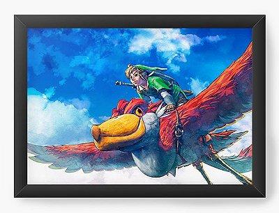 Quadro Decorativo The Legend of Zelda Bird