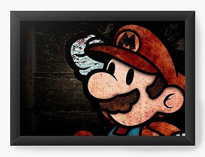 Quadro Decorativo Super Mario - Game