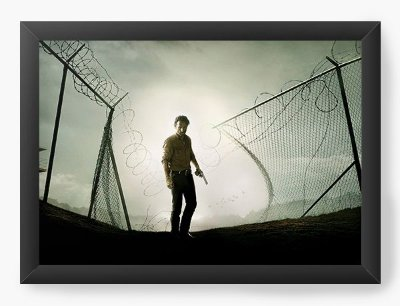 Quadro Decorativo The Walking Dead - Rick Grimes
