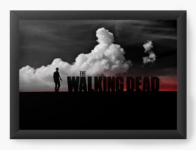 Quadro Decorativo The Walking Dead - Serie