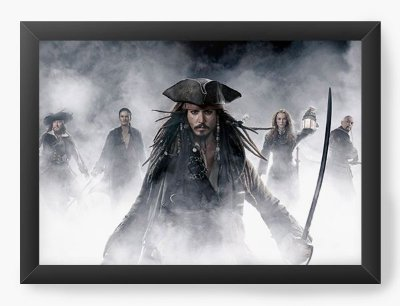 Quadro Decorativo Piratas do Caribe