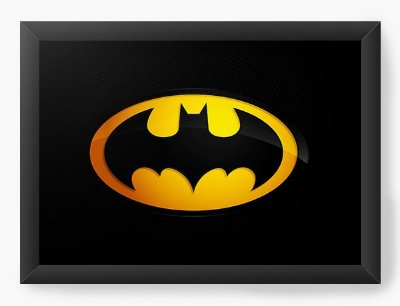 Quadro Decorativo Batman - Simbolo