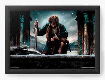 Quadro Decorativo Hobbit