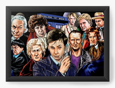 Quadro Decorativo Doctor Who - Serie