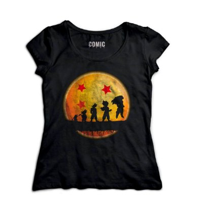 Camiseta Feminina Dragon Ball Evolution - Hakuna Matata