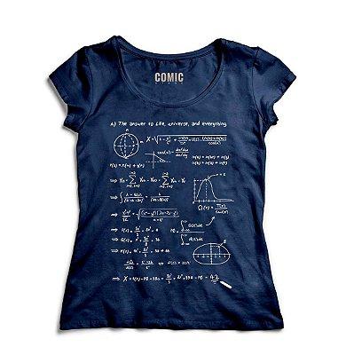 Camiseta Feminina Formula