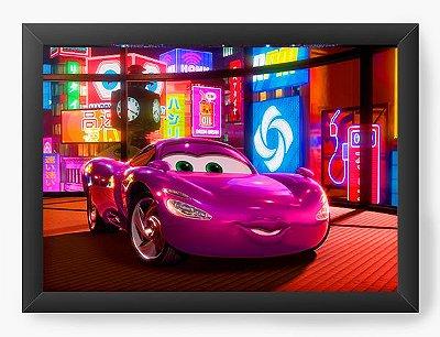 Quadro Decorativo Cars 2 Holley