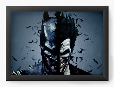 Quadro Decorativo Batman vs Joker