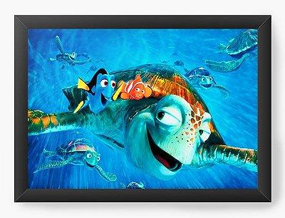 Quadro Decorativo Procurando Nemo Personagens