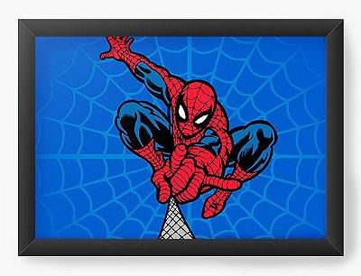 Quadro Decorativo A teia do Homem Aranha