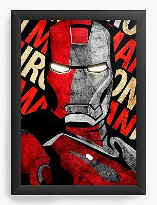 Quadro Decorativo Iron Man