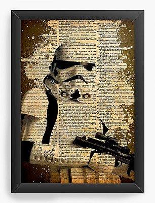 Quadro Decorativo Star Wars - The Stormtrooper