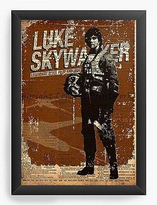 Quadro Decorativo Luke Skywalker