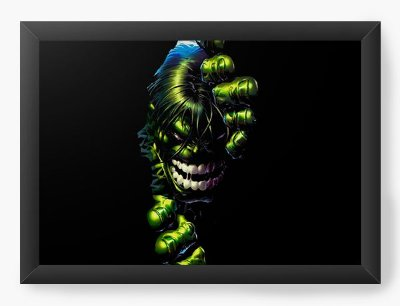 Quadro Decorativo Hulk Furioso