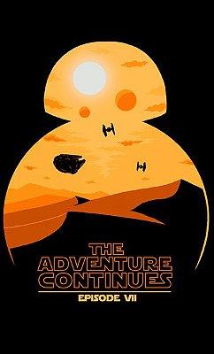 Camiseta Star Wars - The Averture