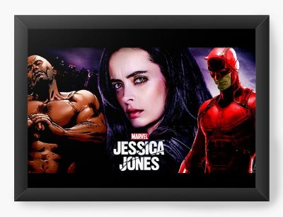 Quadro Decorativo Jessica Jones