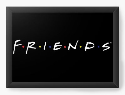 Quadro Decorativo Friends
