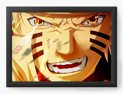 Quadro Decorativo Naruto - Serie