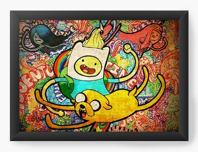 Quadro Decorativo Adventure Time