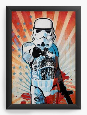 Quadro Decorativo Star Wars I Want You