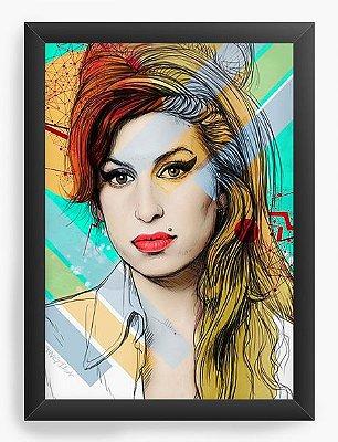 Quadro Decorativo Amy Winehouse