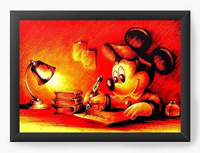 Quadro Decorativo Mickey Mouse