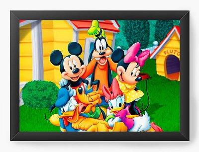 Quadro Decorativo Turma do Mickey